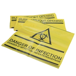 Clinical Waste Self Seal Bags - Pack of 50