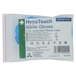 HypaTouch Nitrile Gloves - 6 Pairs