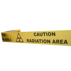 Caution Radiation Area Barrier Tape