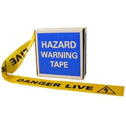 Danger Live Barrier Tape