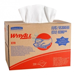 White Wypall Fabric Wipes