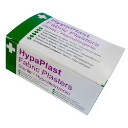 Hypaplast Fabric Plasters - Pack of 100