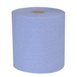 Blue 2Ply Centrefeed Roll - Pack of 6