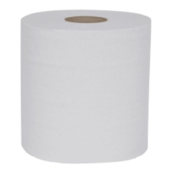 White 2 Ply Centrefeed Roll - Pack of 6