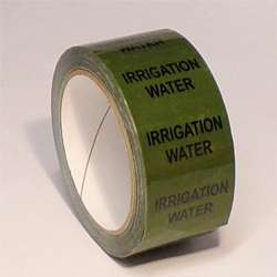 Pipe ID Tape – Irrigation Water - 50mm x 33M