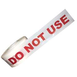 Do Not Use Barrier Tape