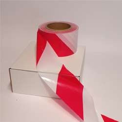 Eco™ 30MU Red and White Barrier Tape