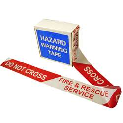 Fire and Rescue Service Do Not Cross Barrier Tape