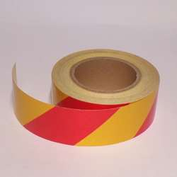 Red and Yellow Reflective Tape