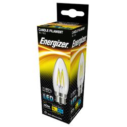 Energizer Filament LED Candle 470LM E14 - Warm White