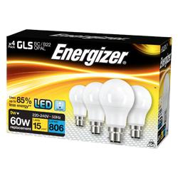 Energizer LED GLS 806LM B22 - Day Light