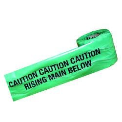 Detectable Warning Tape - Rising Main Below - 150mm x 100M