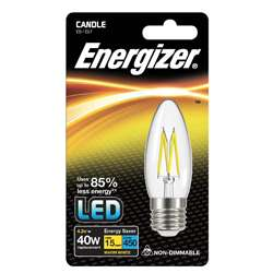 Energizer Filament LED Candle 4W E27