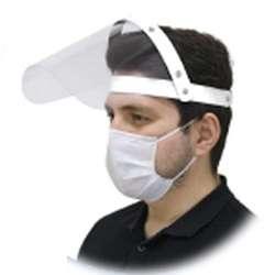Plastic Visor Face Shield