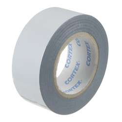 White Faced Black Low Tack Protection Tape