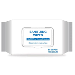 Sanitizing Wipes - Pack Of 80