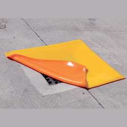 Orange PU Drain Cover