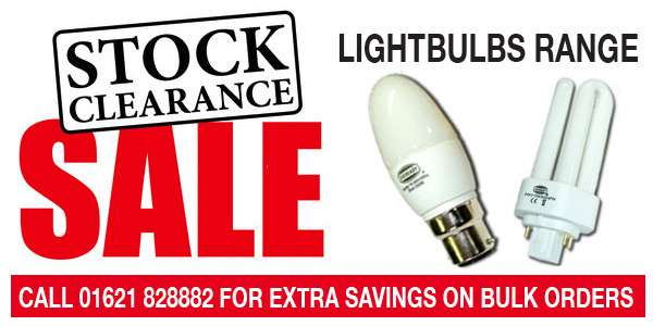 Lightbulbs stock clearance