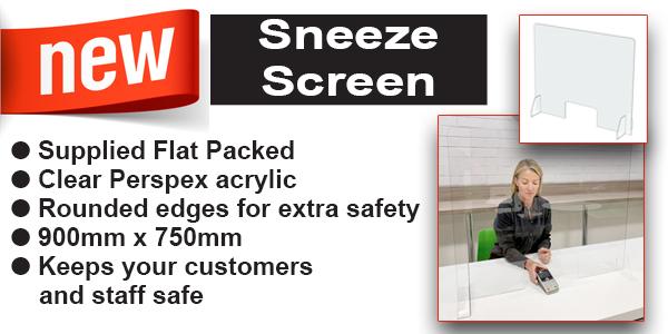 New - Sneeze Screen
