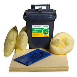 25L Chemical Spill Kit - PE Caddy