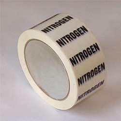 Nitrogen Pipe ID Tape - 50mm x 33M