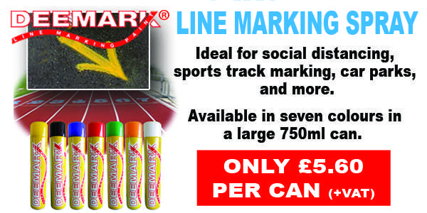 Line Marking Spray