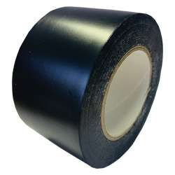 Black Heavy Duty Flame Retardant PVC Pipe Wrap Tape