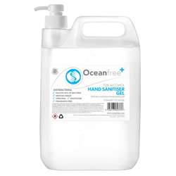 70% Alcohol Hand Sanitiser Gel 5L With Pump