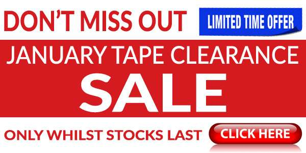 Tape Clearance Sale