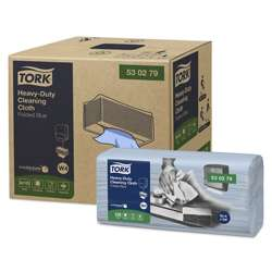 Tork® Blue Industrial Cleaning Cloth - Pack of 4