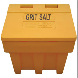 Salt / Grit Bins - Yellow - winter safety products