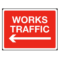 General Construction - Directions to Works Traffic