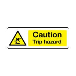 Caution Trip Hazard Safety Signs