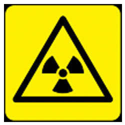 Radiation Pictorial Sign